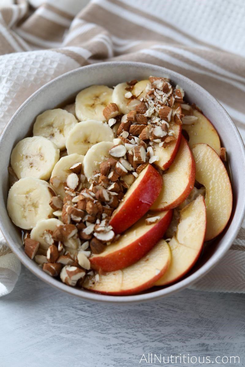 apple banana porridge