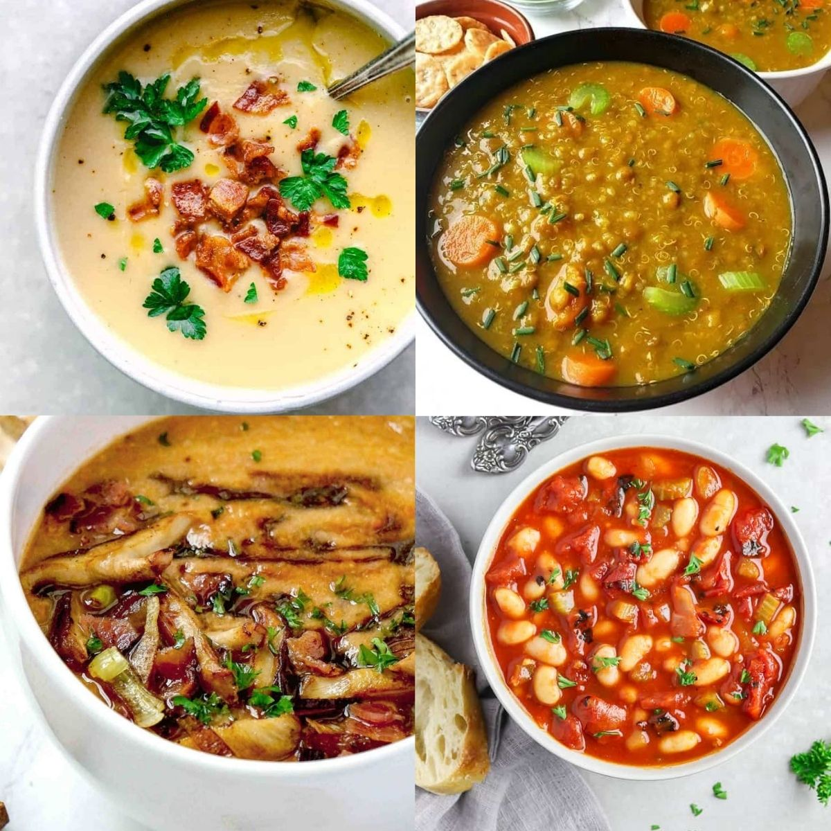 high protein soup ideas