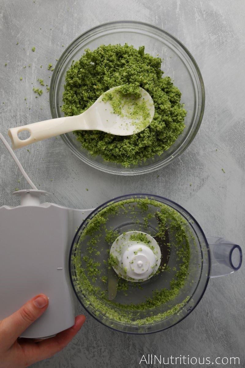 broccoli rice in bowl