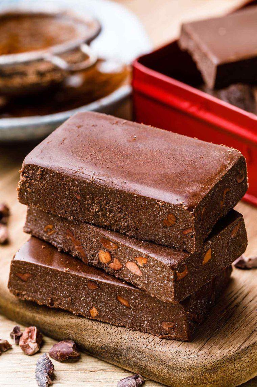 Fudgy Brownie Keto Protein Bars