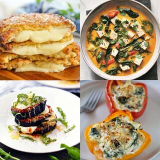 low carb high protein vegetarian recipes