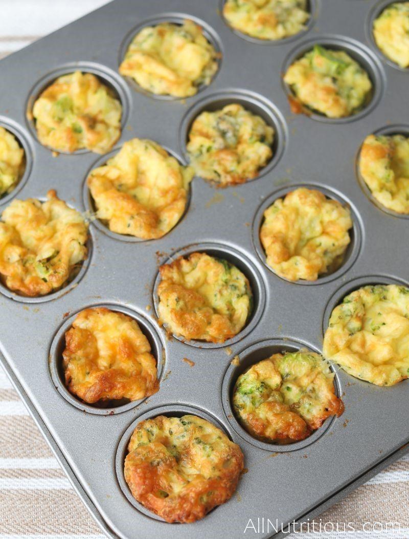bites in muffin tin