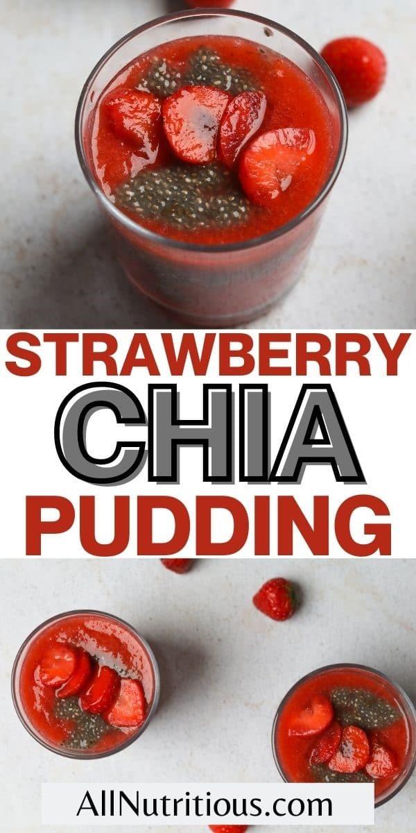 strawberry chia pudding pin