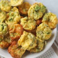 keto broccoli egg bites