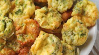keto broccoli egg bites