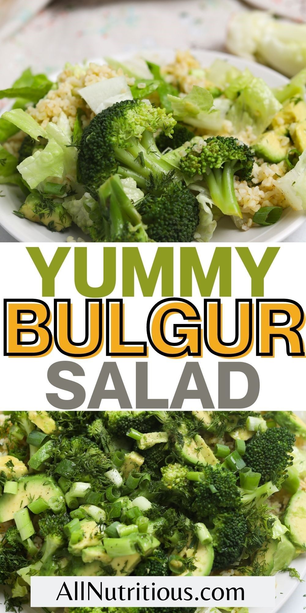yummy bulgur salad