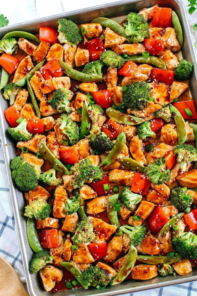Sesame Chicken & Veggies