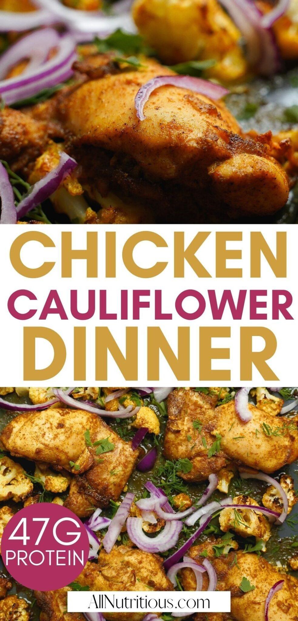 chicken cauliflower dinner