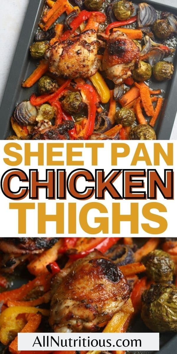 sheet pan chicken thighs