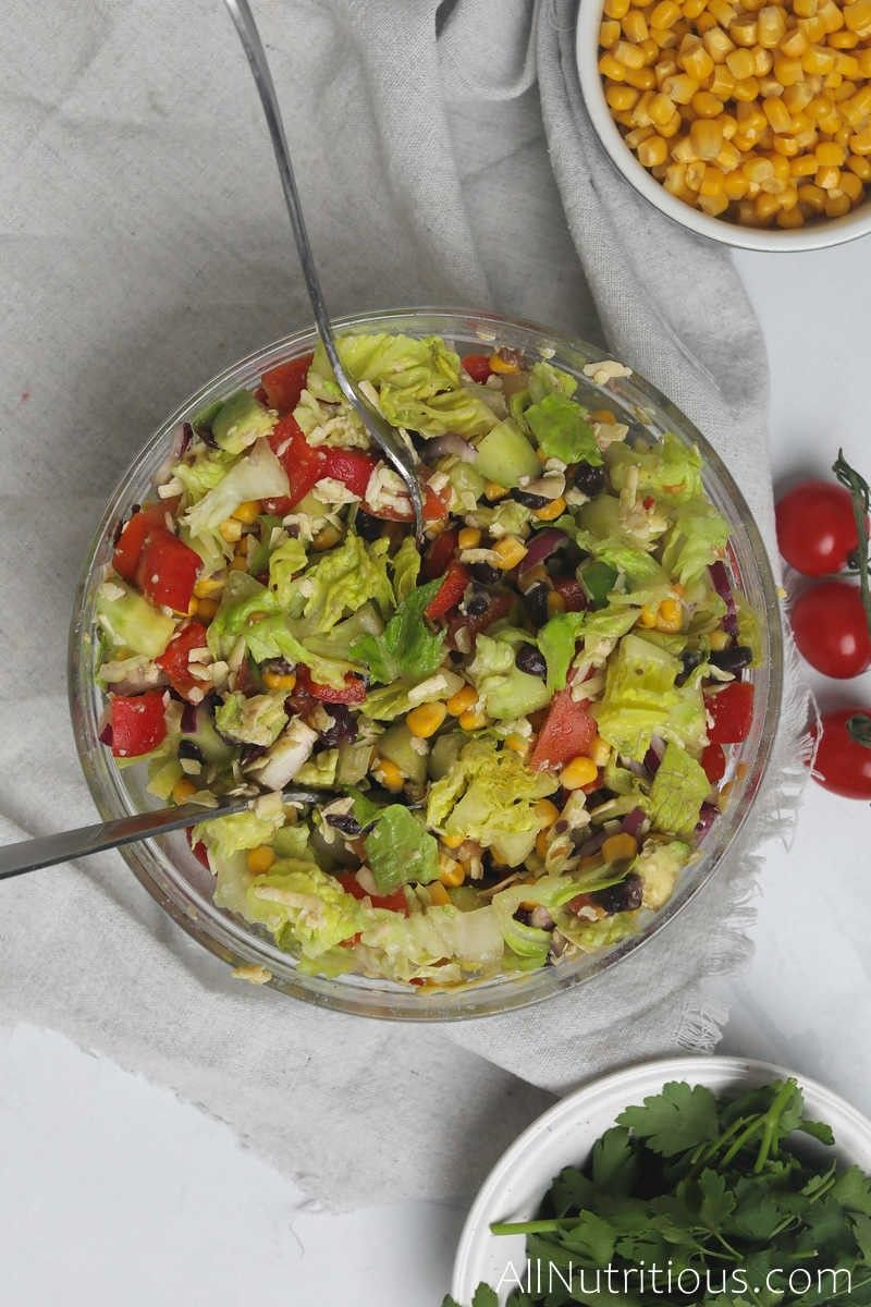 mixed chipotle salad