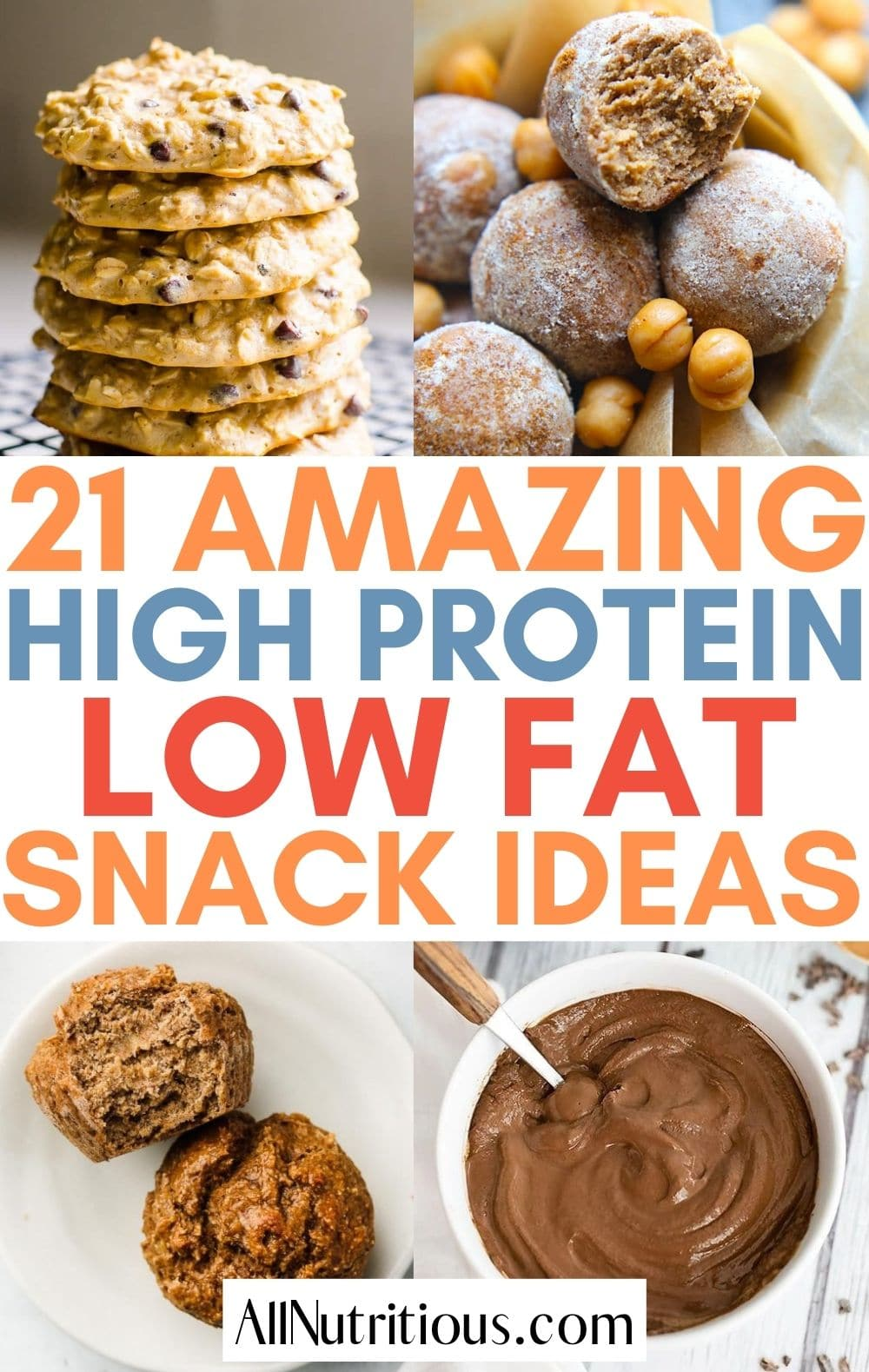 low fat high protein snacks