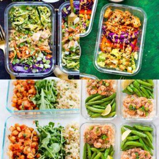 low calorie meal prep ideas