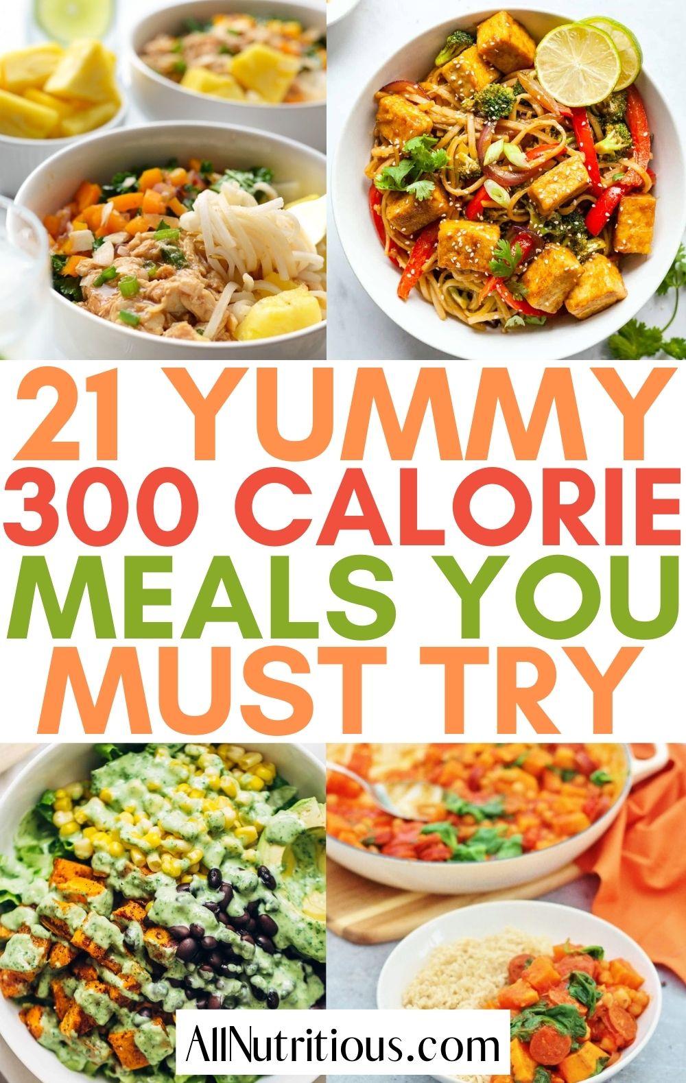 300 calorie meal ideas