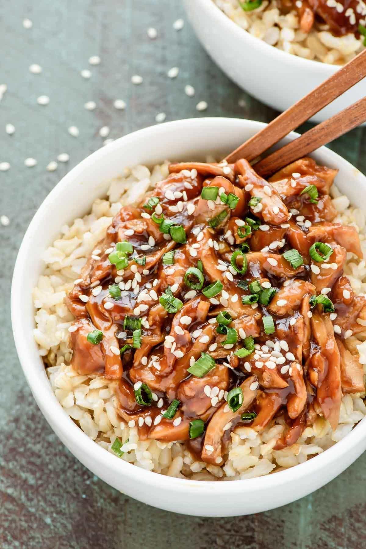 Crock-Pot Teriyaki Chicken