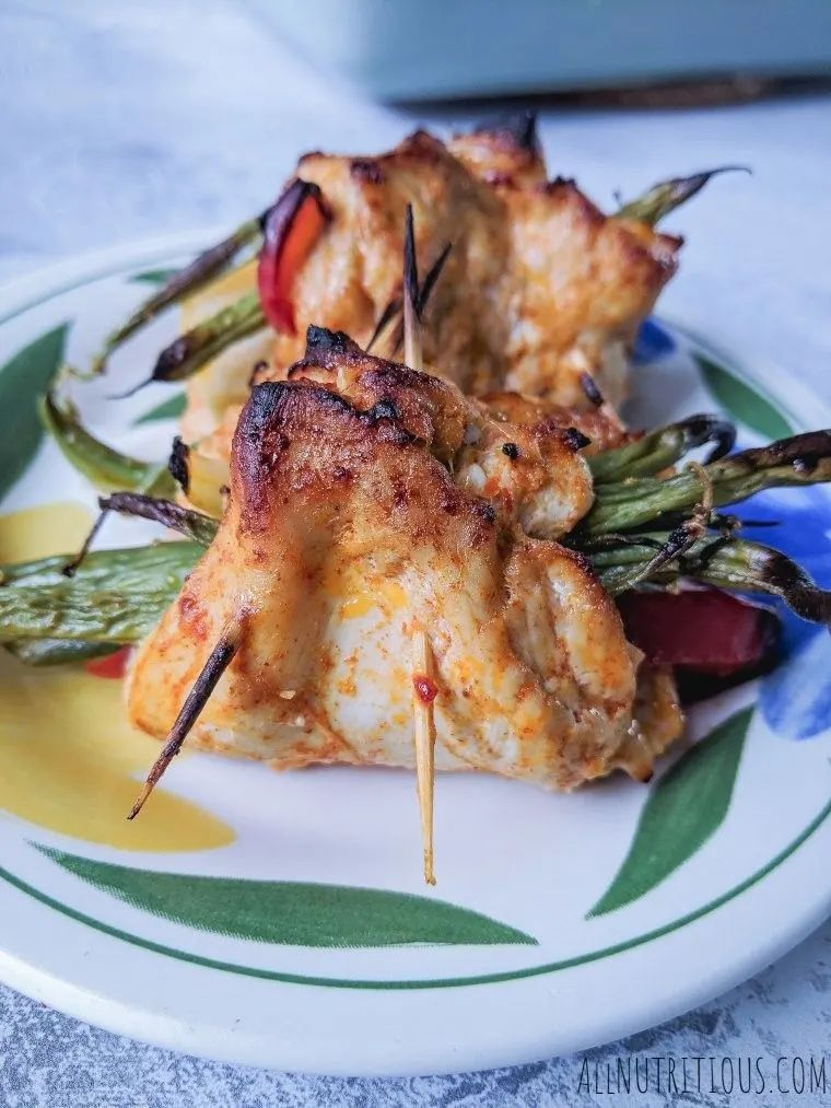 Keto Sweet Chilli Chicken Rolls
