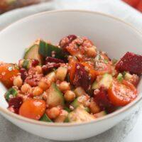 quinoa and chickpea salad