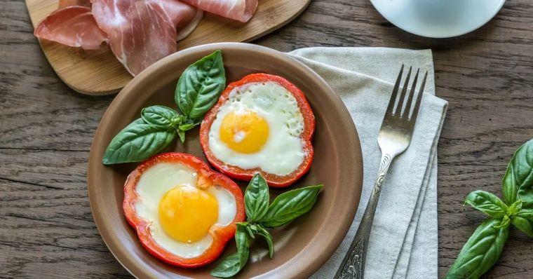 Bell Pepper Egg Rings