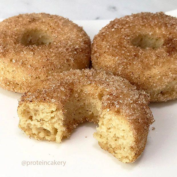 Cinnamon Sugar Protein Doughnuts