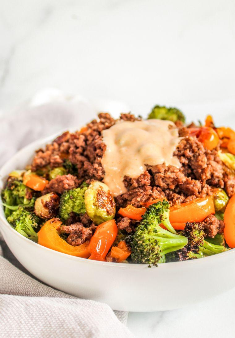 Beef & Veggie Bowls