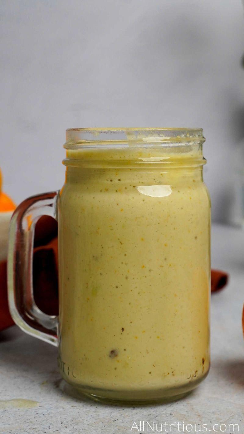 orange coconut protein smoothie