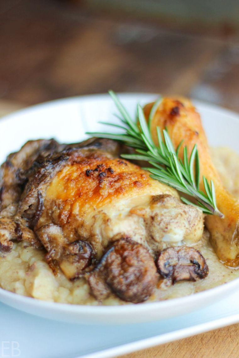 Chicken & Wild Mushroom Stew