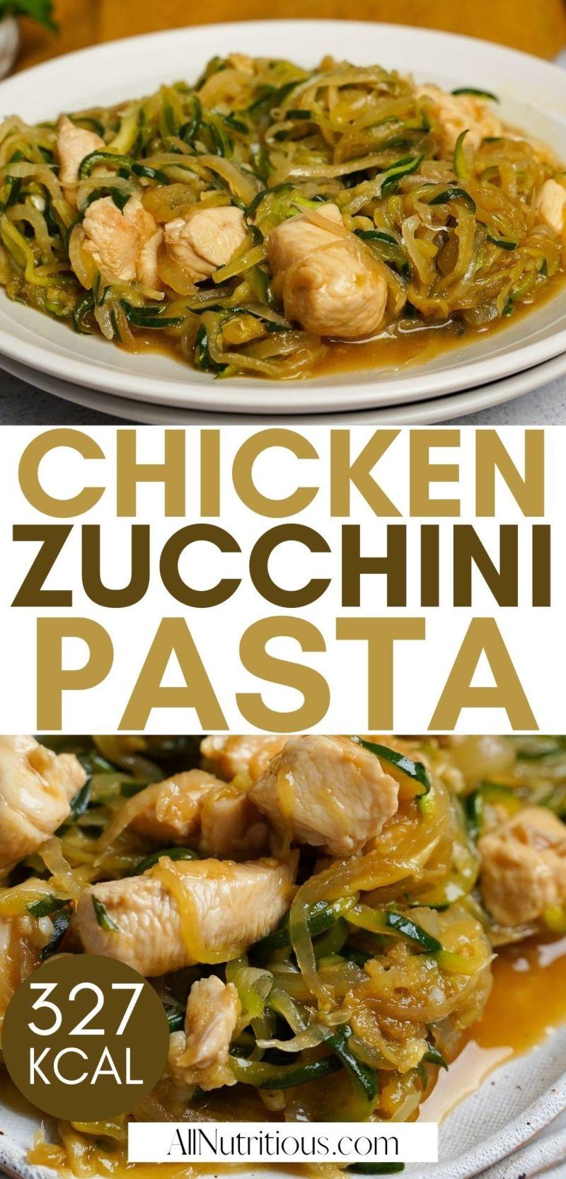 chicken zucchini pasta pin