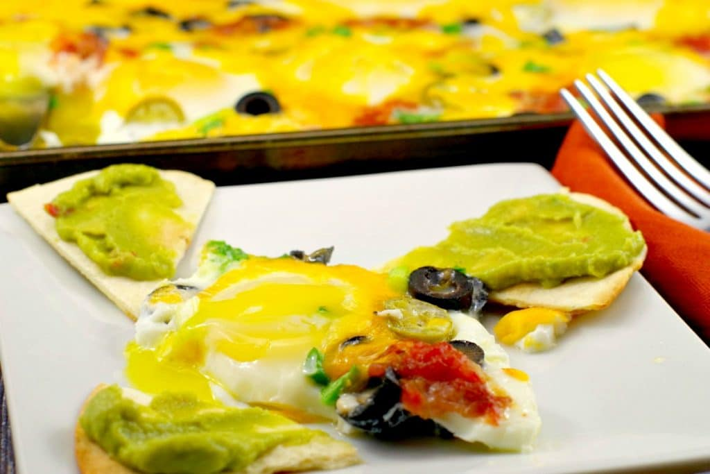 Mexican Sheet Pan Eggs