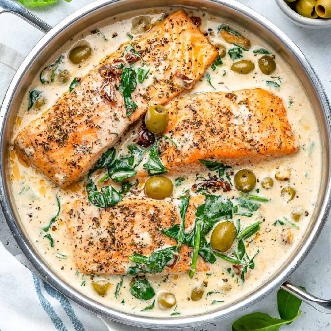 Creamy Tuscan Salmon