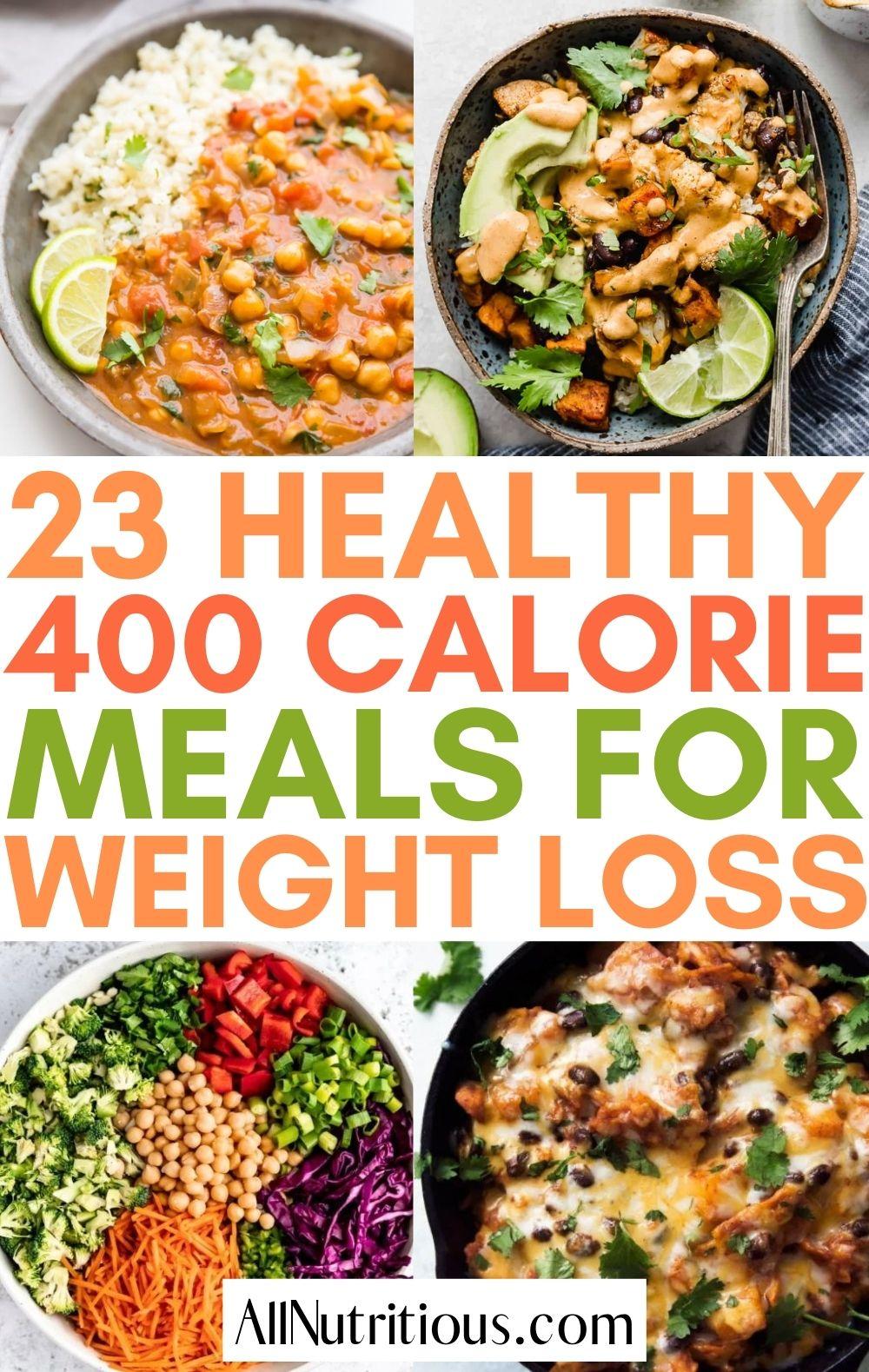 recipes under 400 calories