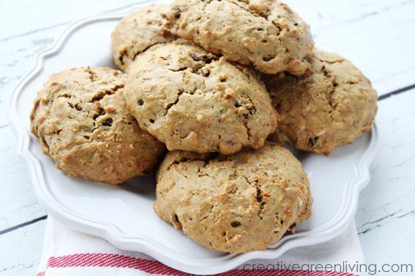 Gluten-Free Oatmeal Raisin Protein Cookies