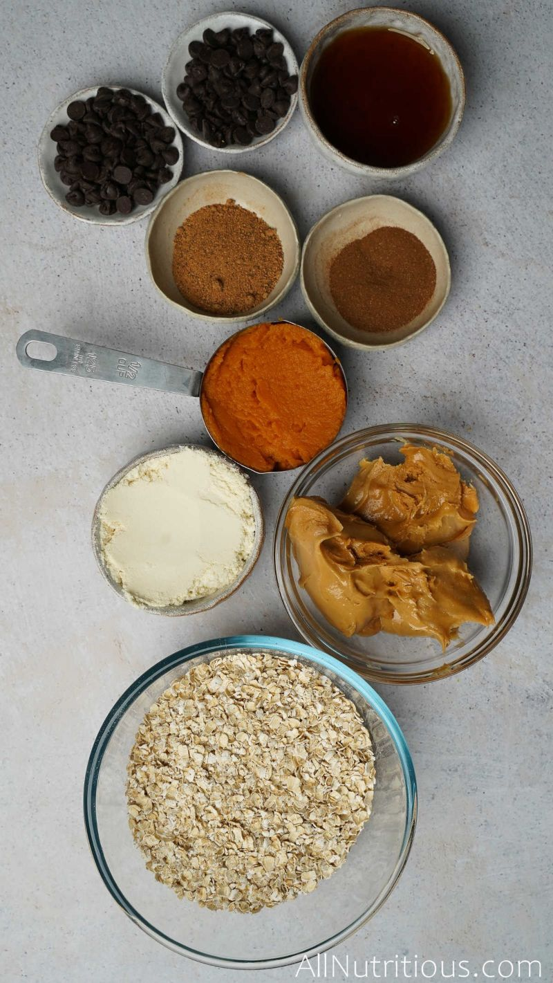 ingredients for protein balls