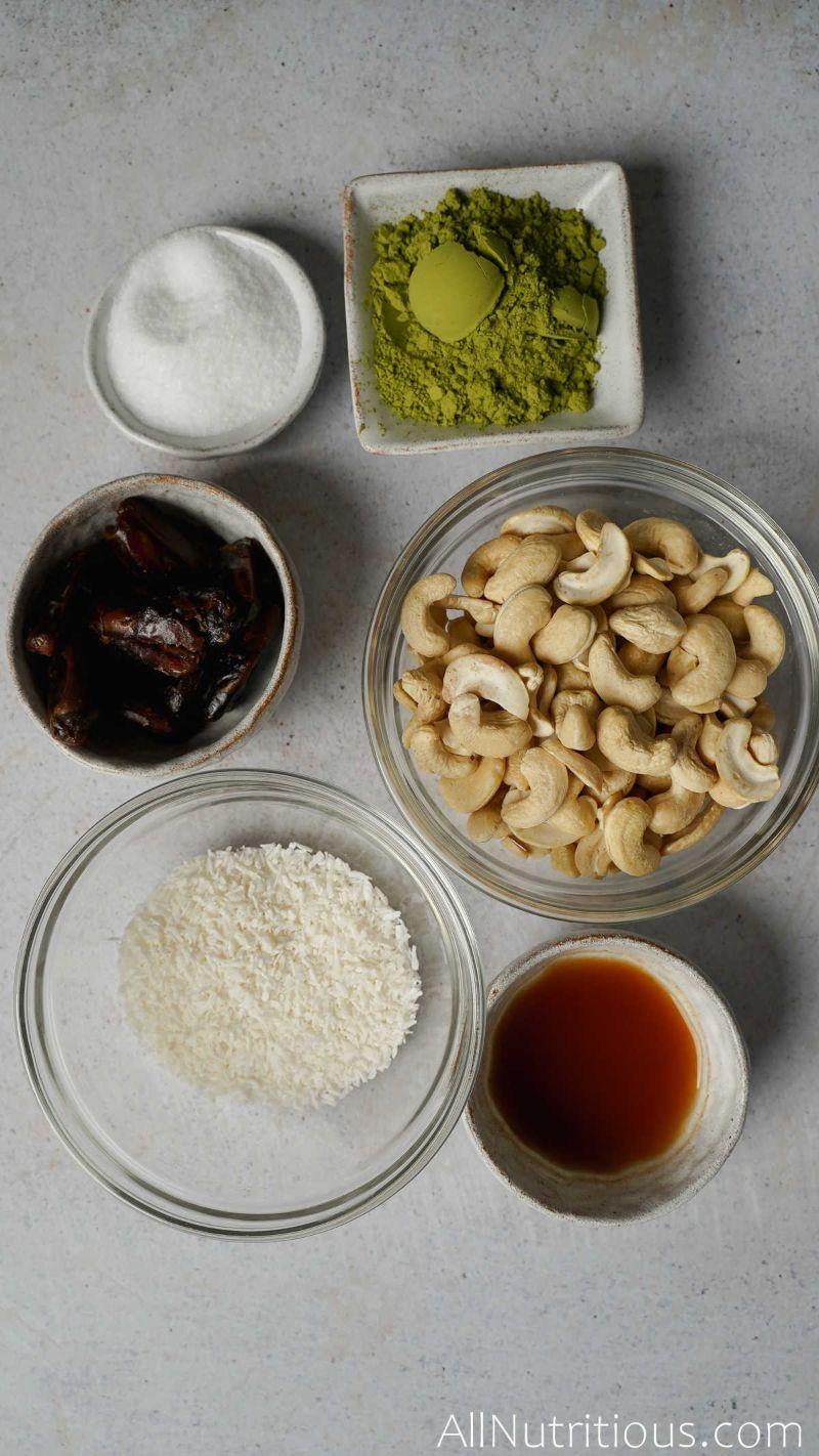 bowls of ingredients