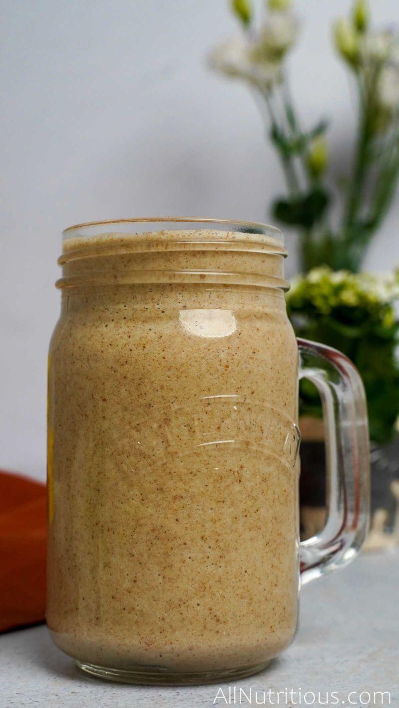 banana cinnamon oatmeal smoothie