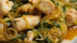 chicken zucchini pasta recipe
