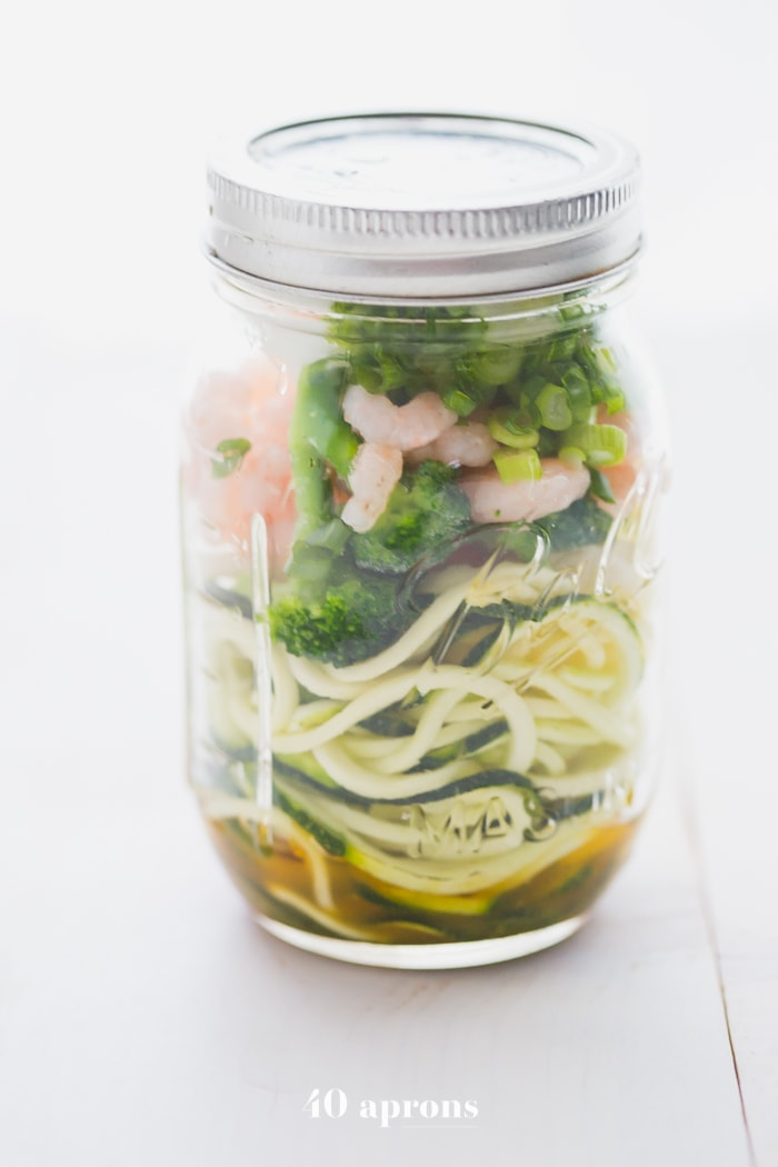 Whole30 Cup Zoodles