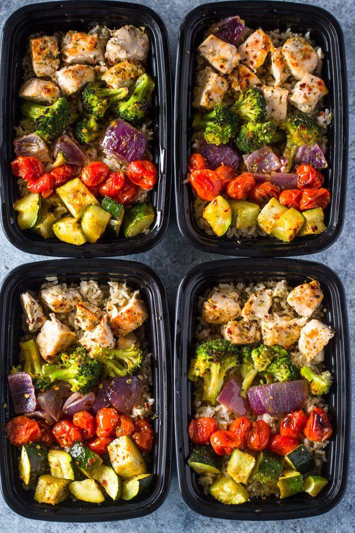 Healthy Roasted Chicken & Veggies