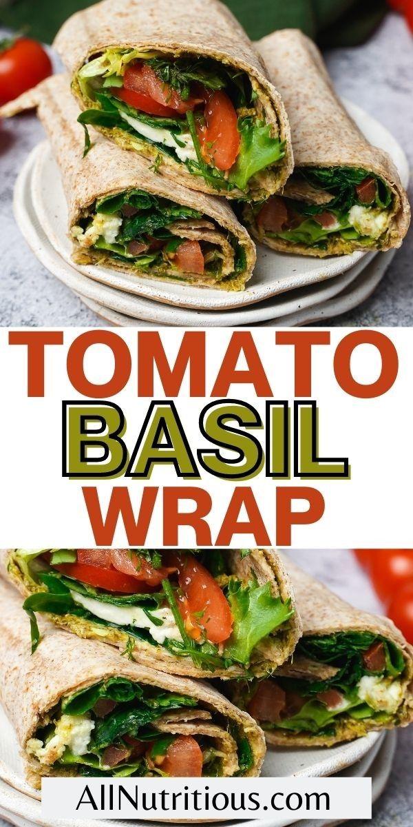 tomato basil wrap