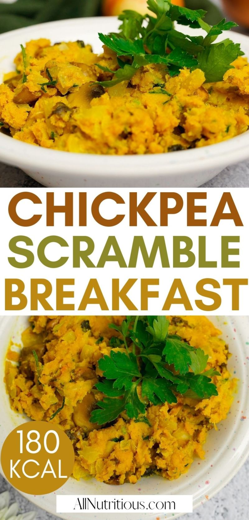 chickpea scramble breakfast