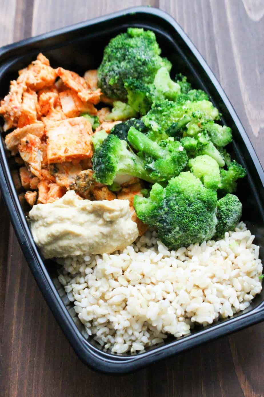 Harissa Chicken Rice Bowl