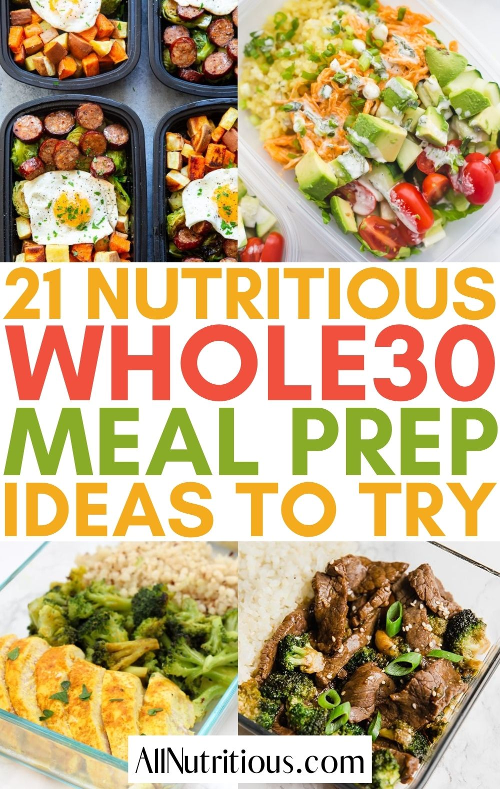 whole30 meal preps