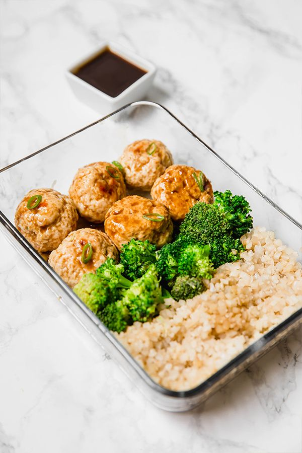 Teriyaki Chicken Meatball
