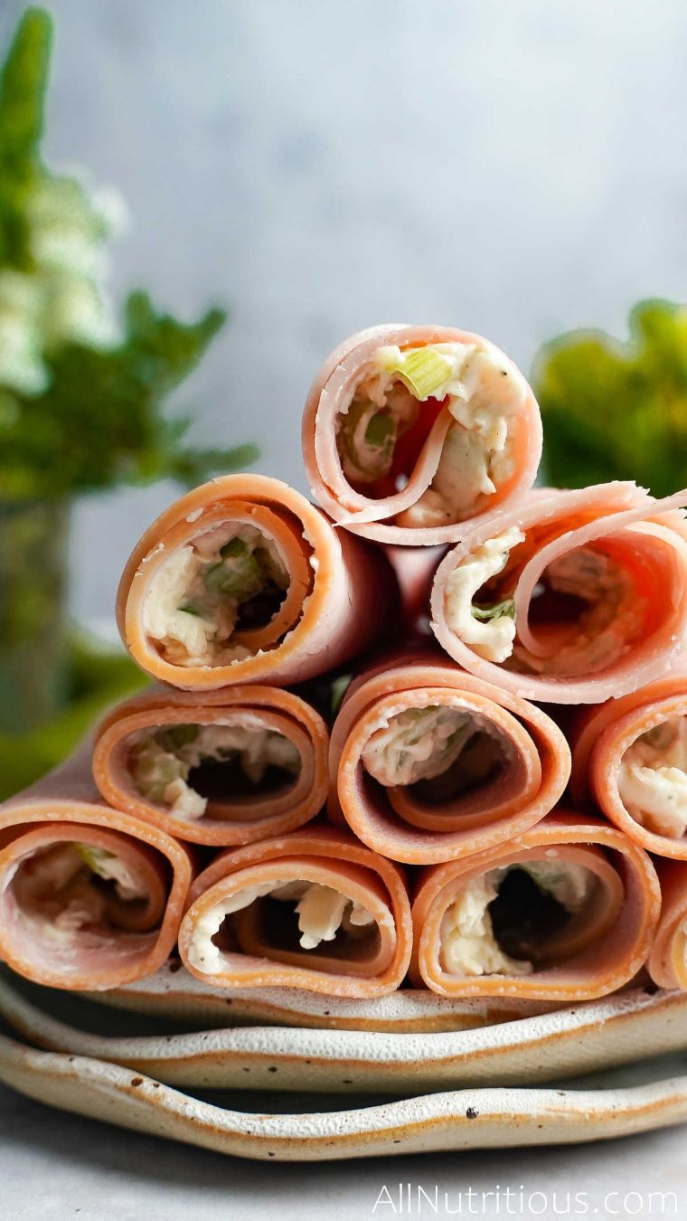 keto ham roll ups