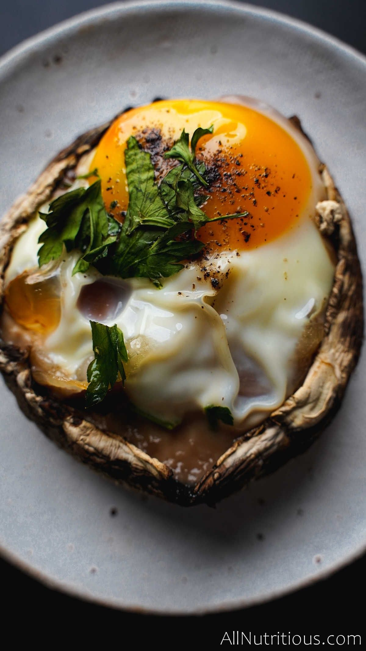 mushroom egg cup