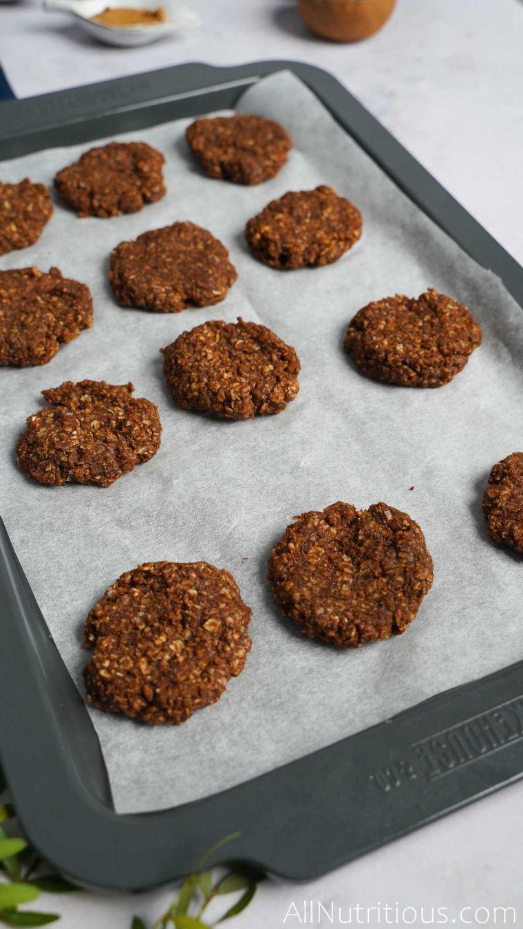 sheet of cookies