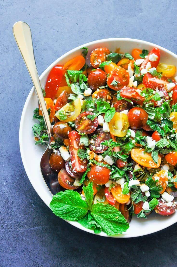 Mediterranean Summer Salad