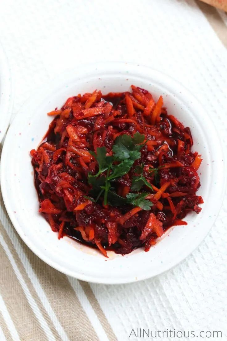 Fast Carrot & Beetroot Salad