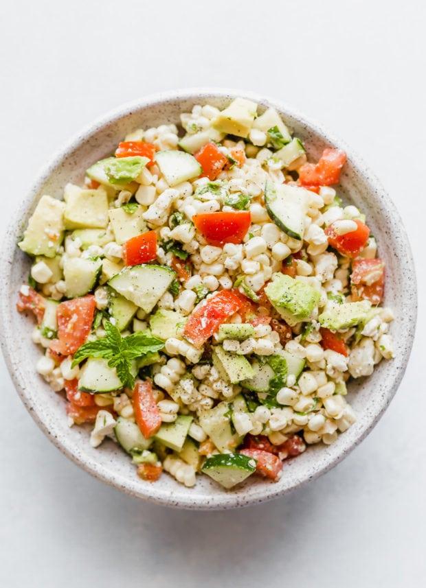 Feta Corn Salad