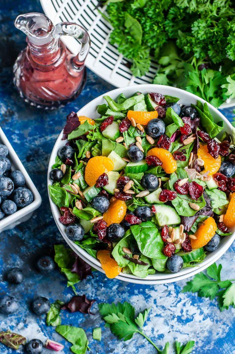 Cranberry Blueberry Salad