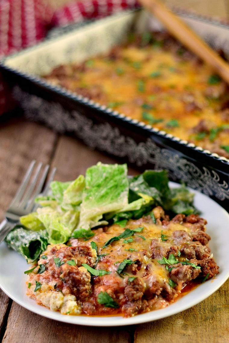 Low Carb Italian Beef Bake
