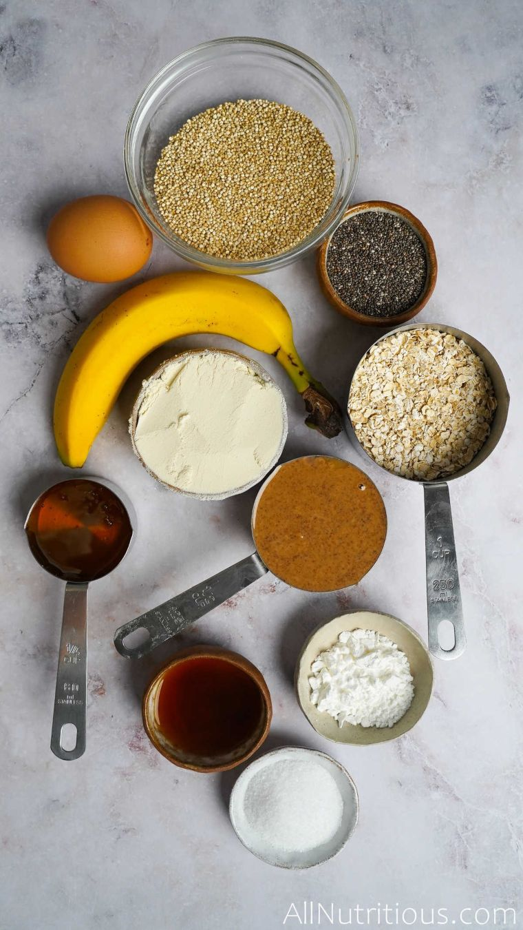 ingredients for banan cookies